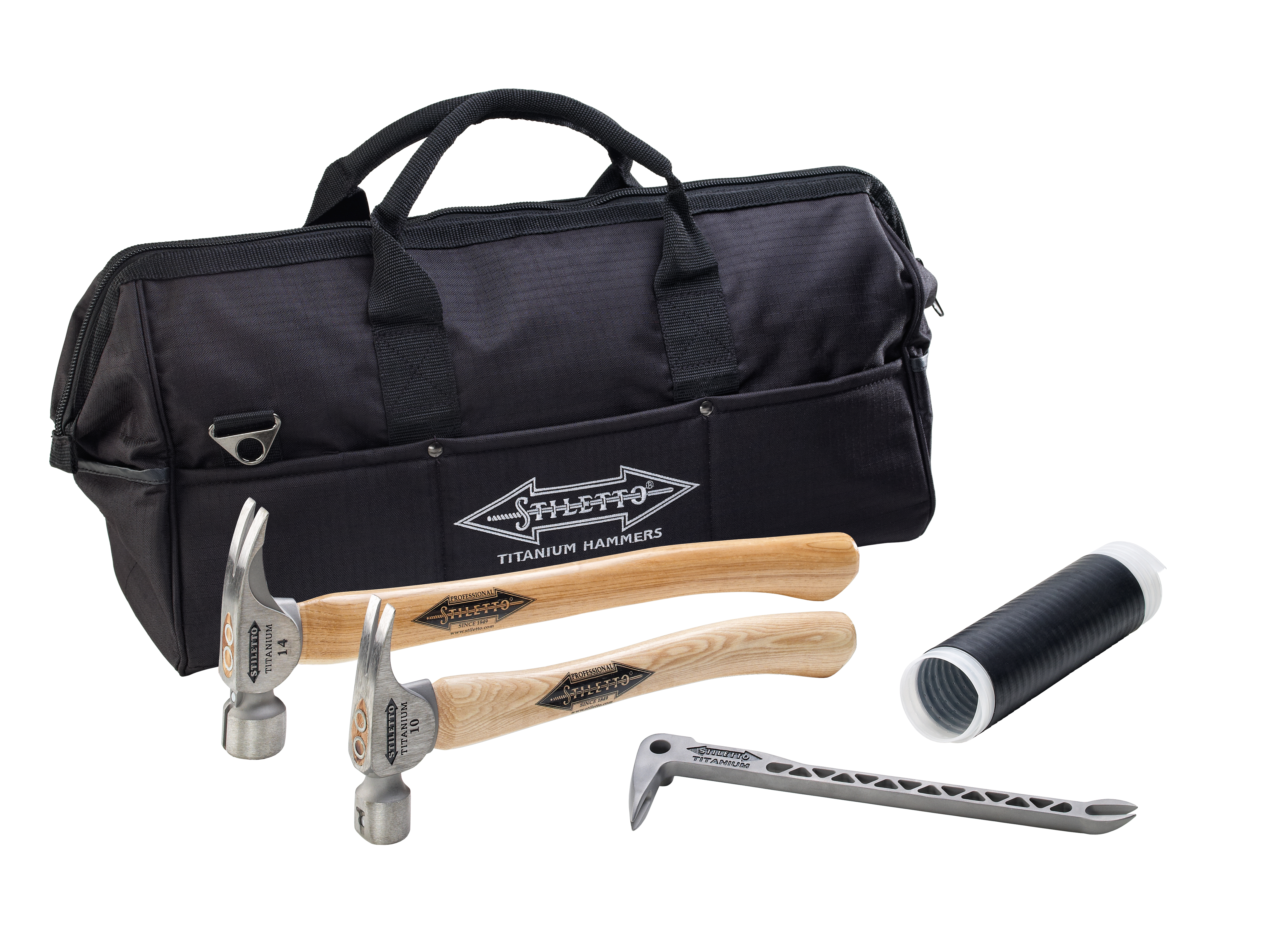 Stiletto® CB514H Hammer Combo Kit, 5 Pieces, Hickory