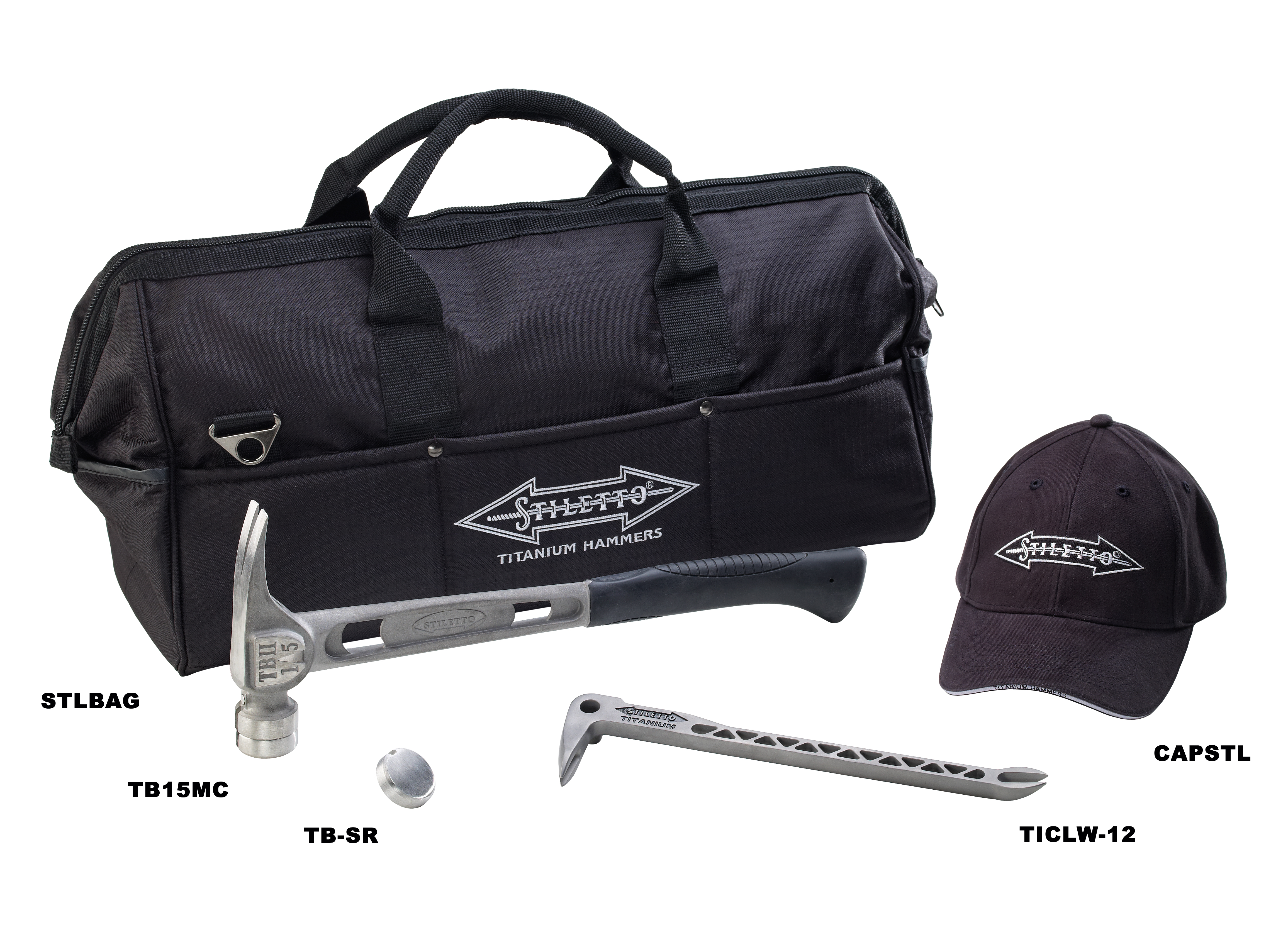 Stiletto® CB5TB T-Bone Combo Kit, 5 Pieces
