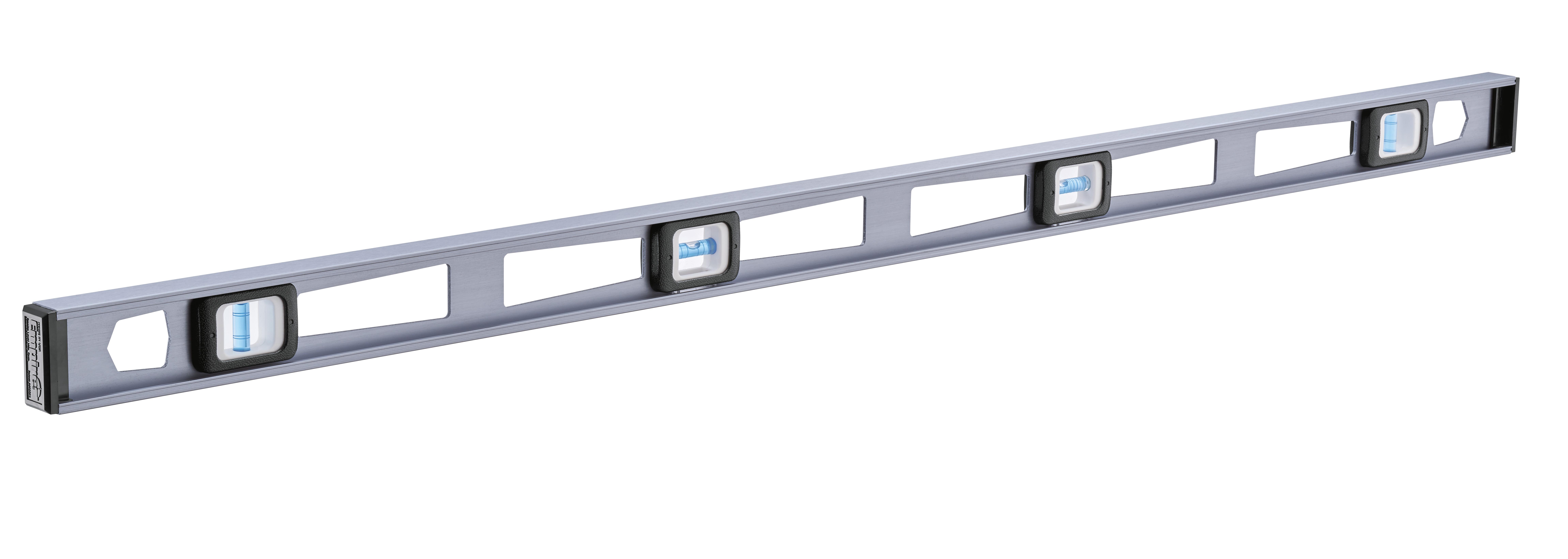 Milwaukee® Empire® TRUE BLUE® E80.48 Heavy Duty Non-Magnetic Professional I-Beam Level, 48 in L, 4 Vials, Aluminum, (2) Level, (2) Plumb Vial Position, 0.0005 in