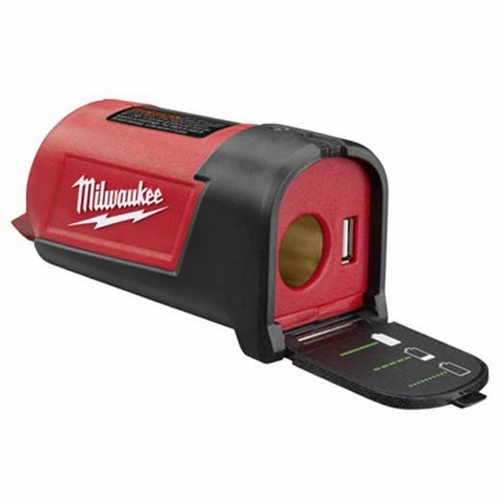 Milwaukee,2349-20,Milwaukee® 2349-20 Cordless Power Port, Charge Voltage: 12 VAC, Charge Current: 3 AMP, Lithium Ion Charge, Charge Indicator: LED