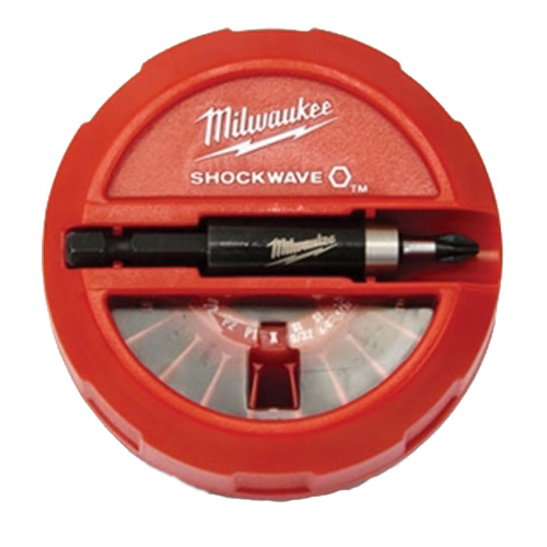 Milwaukee 48-32-4011 SHOCKWAVE™ 22-Piece Impact Duty Insert Bits Puck Dispenser