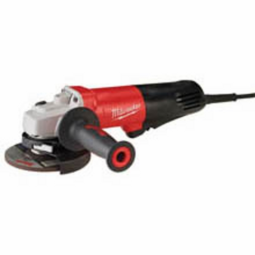 Milwaukee,6116-31,Milwaukee® 6116-31 Small Angle Grinder, 120 VAC, 12 AMP, Speed: 10000 RPM, Wheel Dia.: 4.125 - 5.000 IN, Spindle Thread Size: 0.625 - 11.000 IN