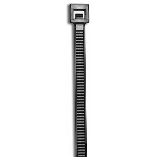 11in 50LB UV BLACK CABLE TIE
