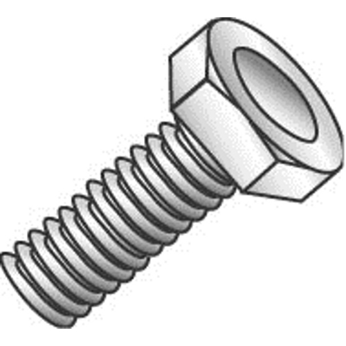 Hex Head Zinc Plated 1//2-Inch Hex Dottie MB5161 Tap Bolt L.H 100-Pack 5//16-Inch-18 TPI by 1-Inch Length