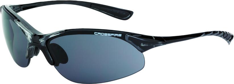 CUL 19110 Cobra smoke lens, crystal black frame