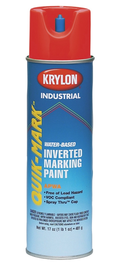 CUL 37681 A.P.W.A. RED INVERT PAINT WATER BASED