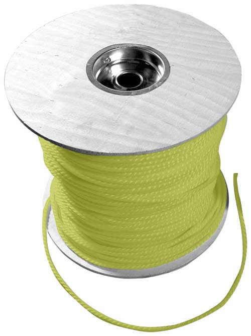 CUL 67830 YELLOW POLY ROPE 3/8