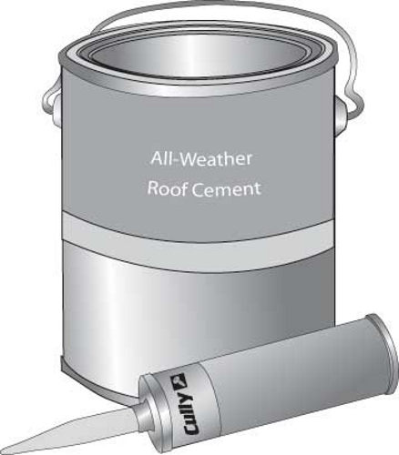 CUL 96010 WET'N DRY-ROOF CEMENT CALK TUBE