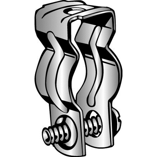 Minerallac® K Series Conduit Hanger, For Use With 3/8 in to 1/2 in Rigid/IMC and 1/2 in EMT Conduit, Steel