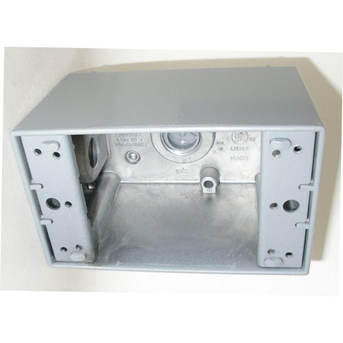 MUL 30583 WP ALUM BOX DEEP - 1G 1/2IN CS=10 BWF DB5V