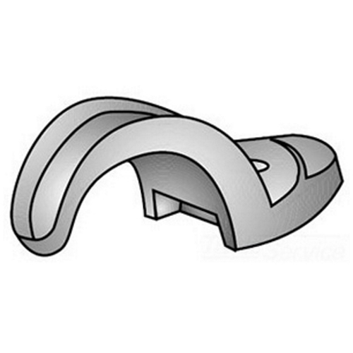 O-Z/Gedney 14-150G Pipe Strap, 1-1/2 in, For Use With IMC/Rigid Conduit, Malleable Iron, Hot Dip Galvanized