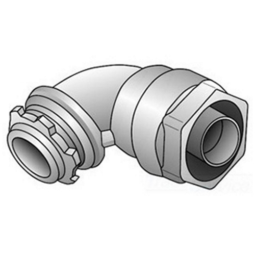 OZ/Gedney 4Q-9100 1 In 90 Degree Liquidtight Grounding Connector