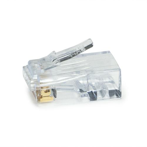 PLA 100028C PLA PLATINUM TOOLS RJ45 EZEX44 CONNECTORS 50/CLAMSHELL CAT5E/6/6A