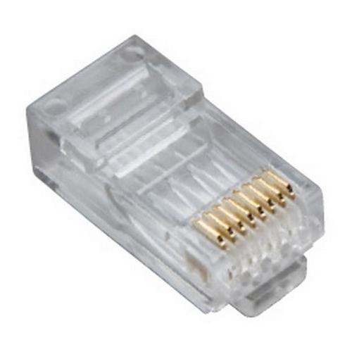 PLA 106162C PLATINUM TOOLS RJ45 (8P8C) CAT5E HP ROUND-STRANDED 25/CLAMSHELL