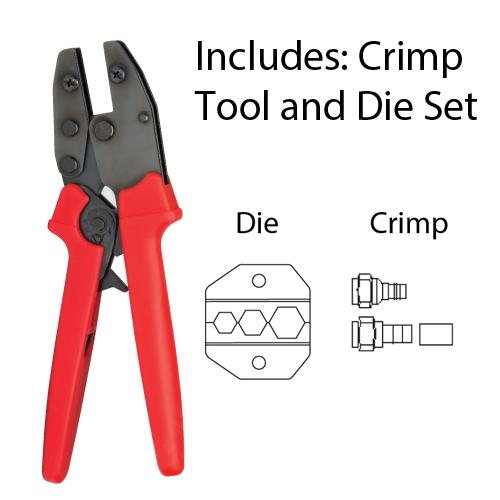 """PLATINUM 16505C 9"""" Crimp Tool-CATV"""