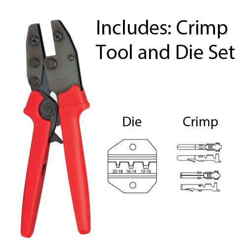 """PLATINUM 16508C 9"""" Crimp Tool-Comm"""