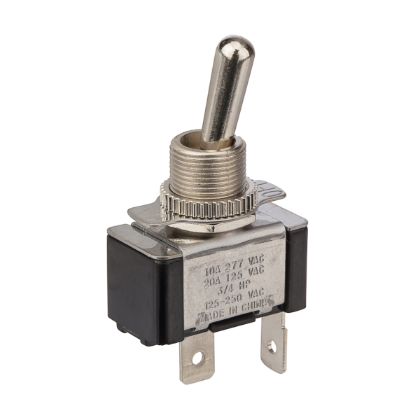 NSI 78120TQ Toggle Switch Bat SPST On-Off 20 Amp