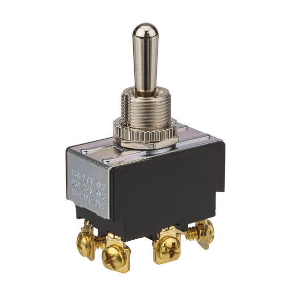 NSI 78250TS Toggle Switch Momentary DPDT On-Off-(On)