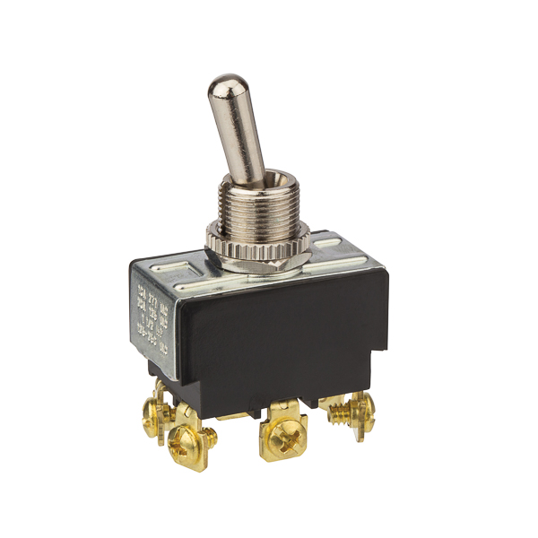NSI 78270TS Toggle Switch Bat DPDT On-On Screw Term