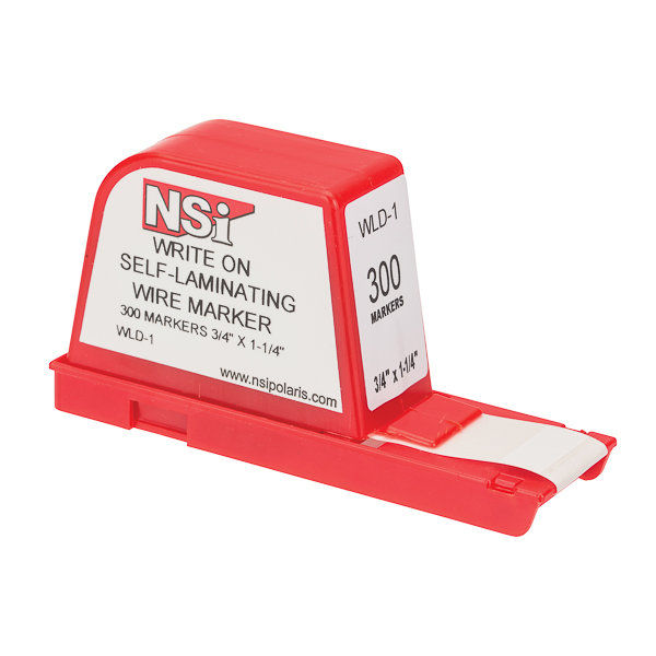 NSI WLD-1 Write-On Wire Marker Dispenser 300