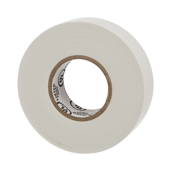NSI WW-716-9 WARRIOR WRAP 7 MIL TAPE WHITE