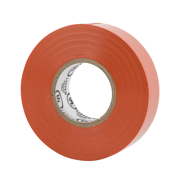 NSI WW-732-3 Warrior Wrap Orange 7mil Premium Vinyl Electrical Tape