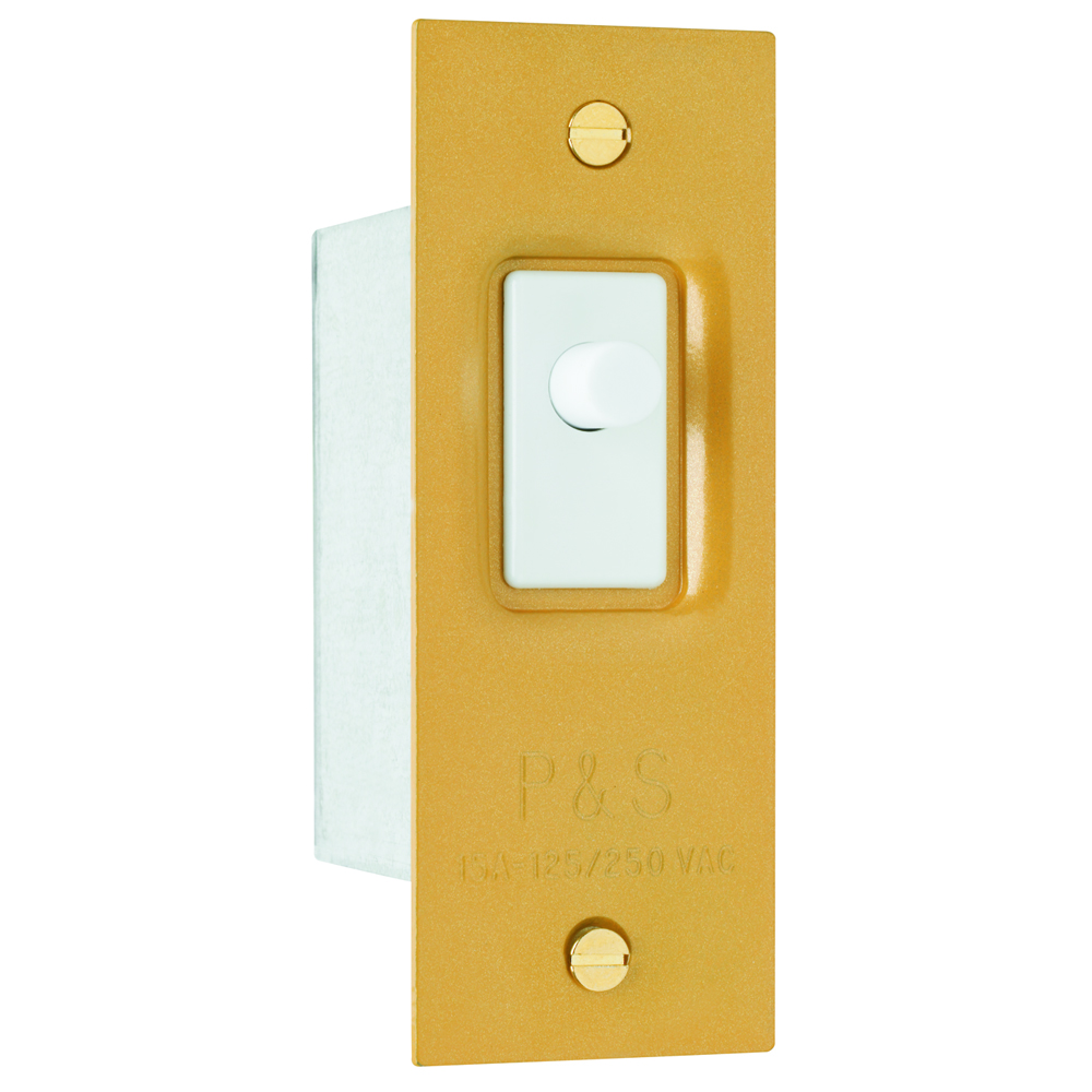 Pass & Seymour 1201 Pressure Sensitive Door & Canopy Switch, 15A 120/250V