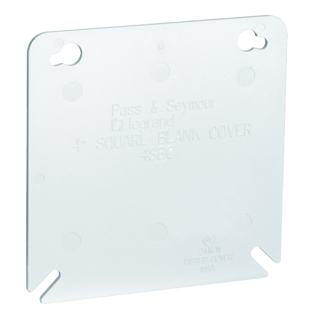 PS 4SBC PL BX 4 SQ BLANK COVER