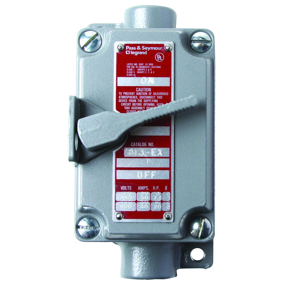 PS 7813-EX HAZ LOC ENCL WITH 7803SW