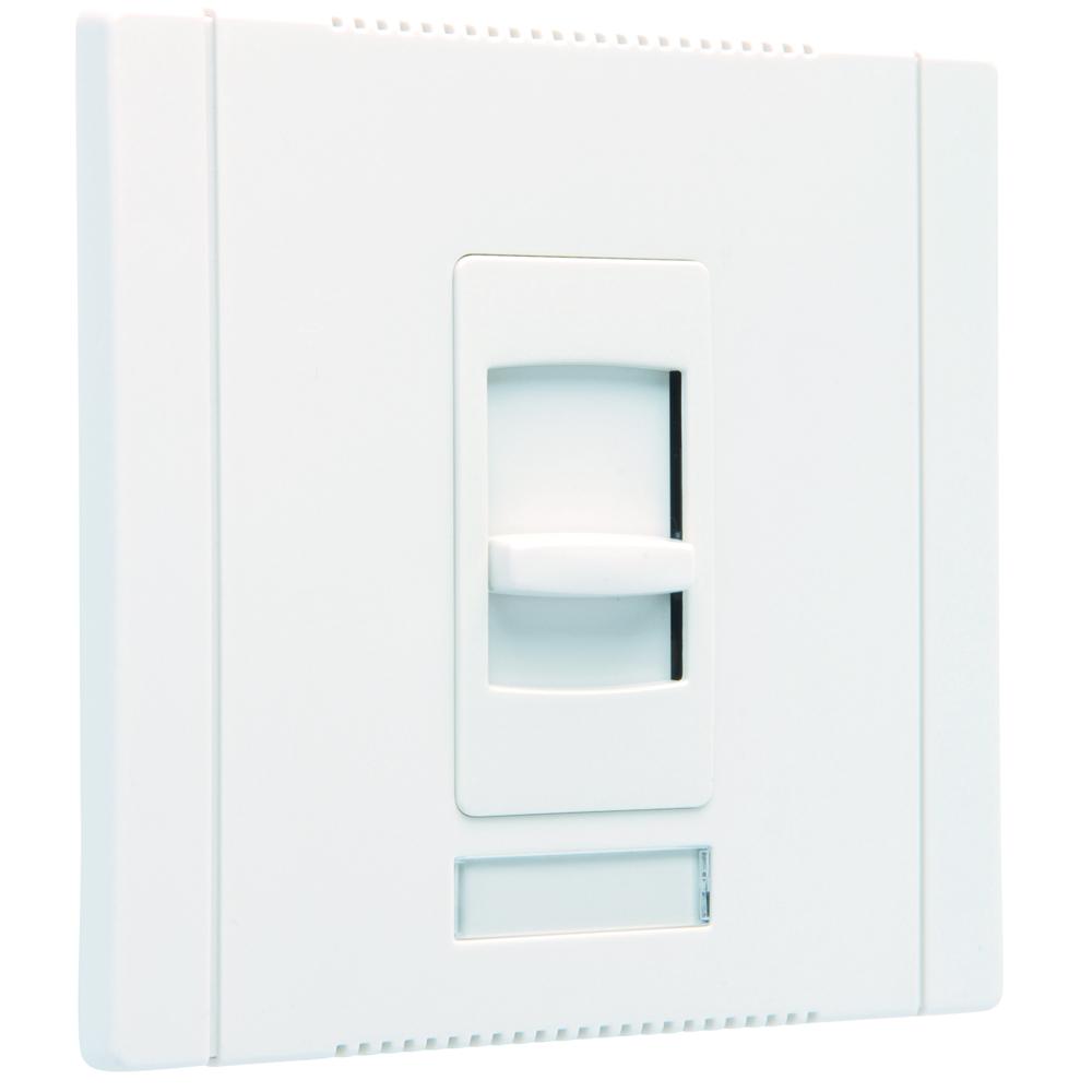 Pass & Seymour CD1600-W Slide Dimmer, Single Pole 1600W 120V - White
