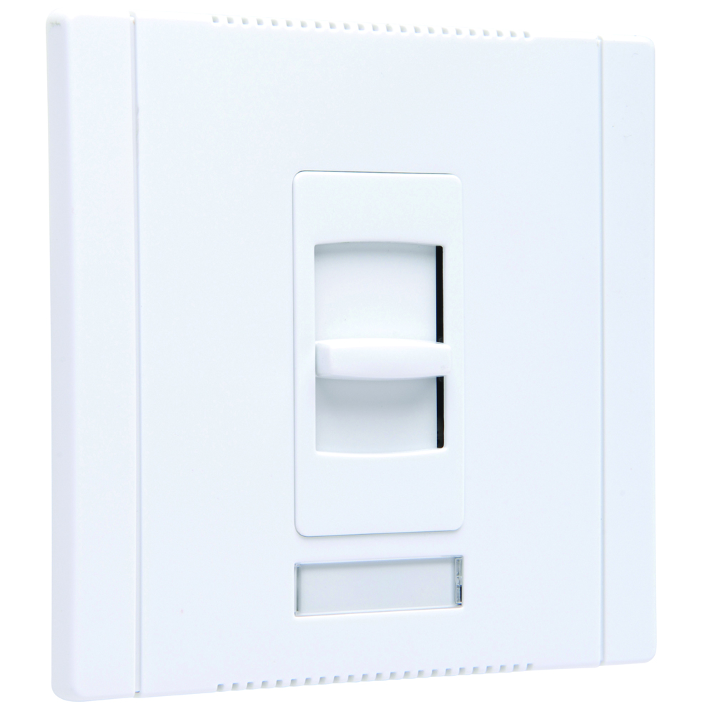Pass & Seymour CD2000-W Slide Dimmer, Single Pole, 2000W 120V - White