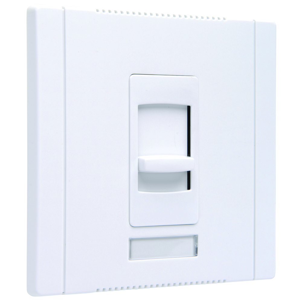 Pass & Seymour CDFB10-W Slide Dimmer, Electronic Single Pole, 2Wire 10A - White