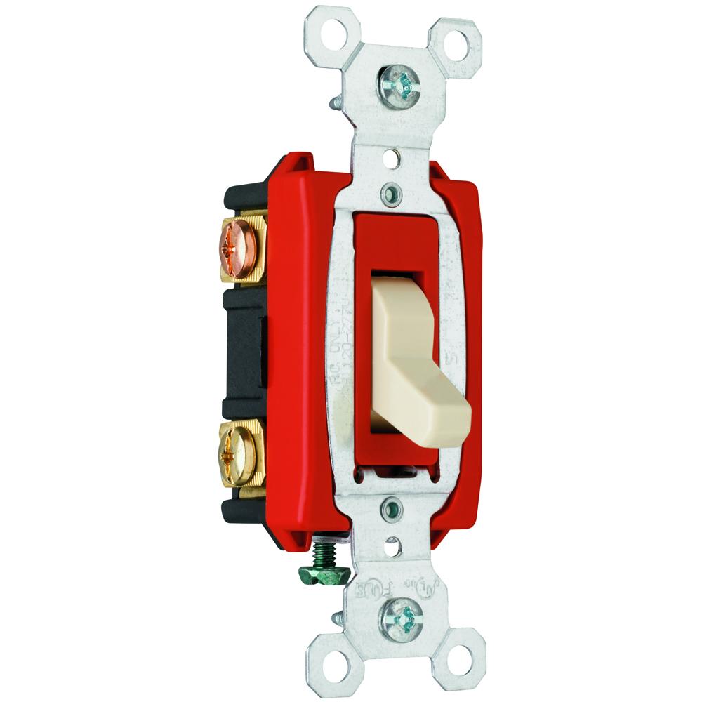 Pass & Seymour CSB20AC3-I 20A 120277VAC Bs Wire Comm 3W Sw