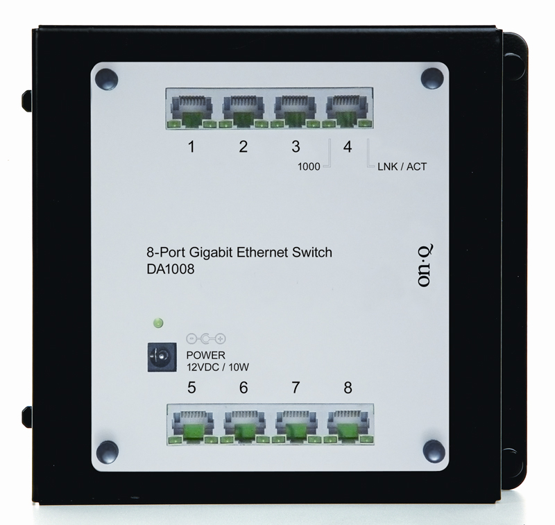 PS DA1008 8-Port Gigabit EthernetNetwork Switch