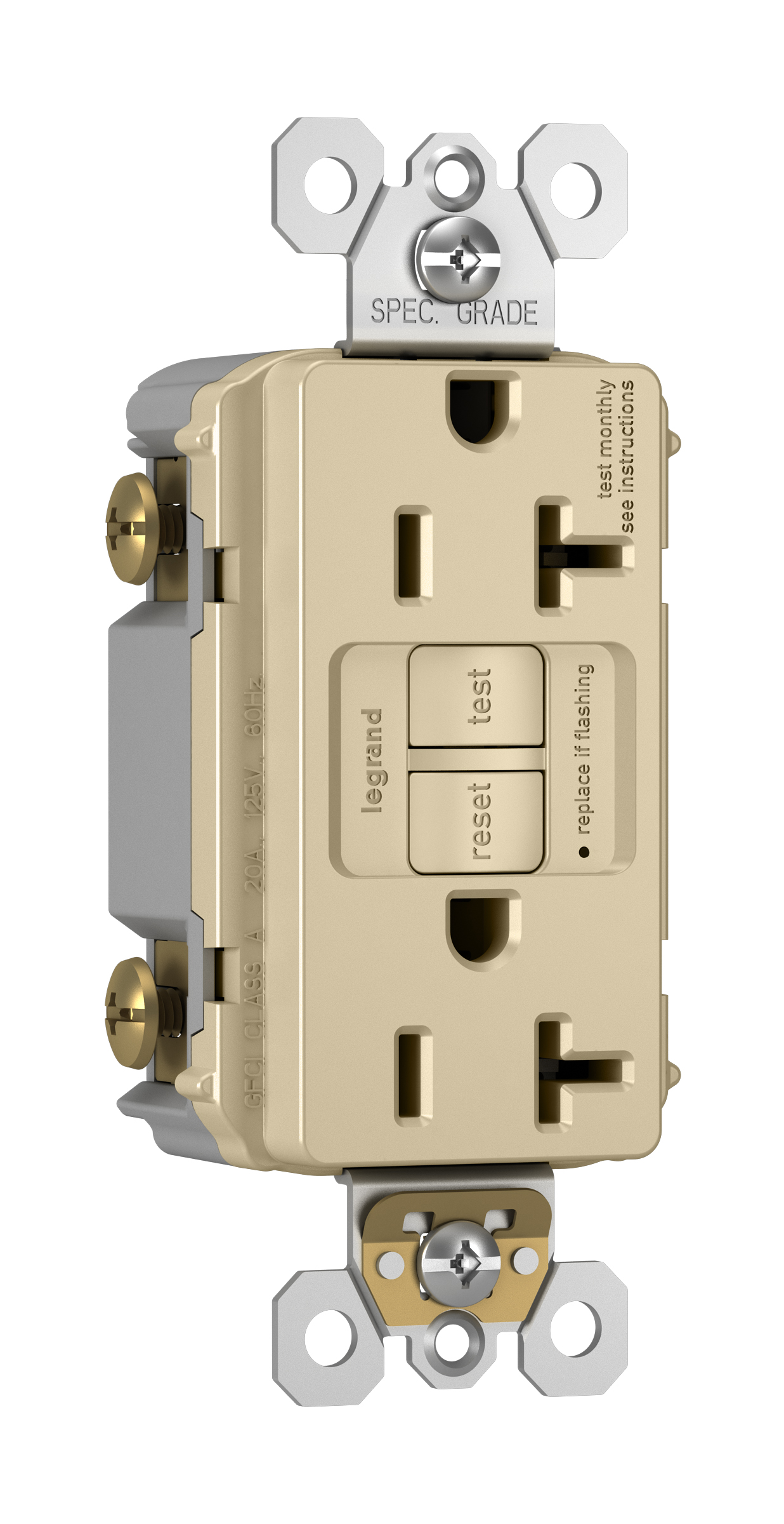 Legrand Pass Seymour 2097 I North Coast Electric Wiring Gfci Receptacles Seymour2097 Ipass Self