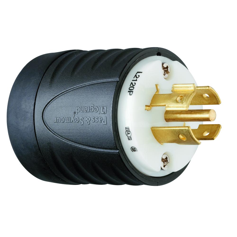 PS L2120-P Turnlok Plug 5W 20A 3Ph120/208V