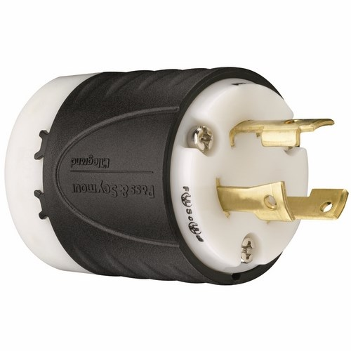 Pass & Seymour L630-P Turnlok® Plug 3Wire 30Amp 250Volt