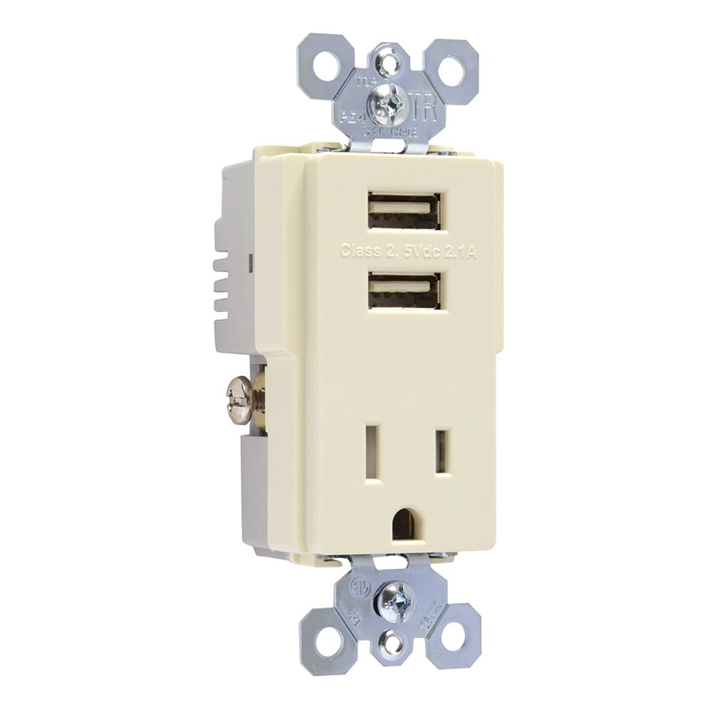 P&S TM8-USBLACC6 DECORA USB COMBO