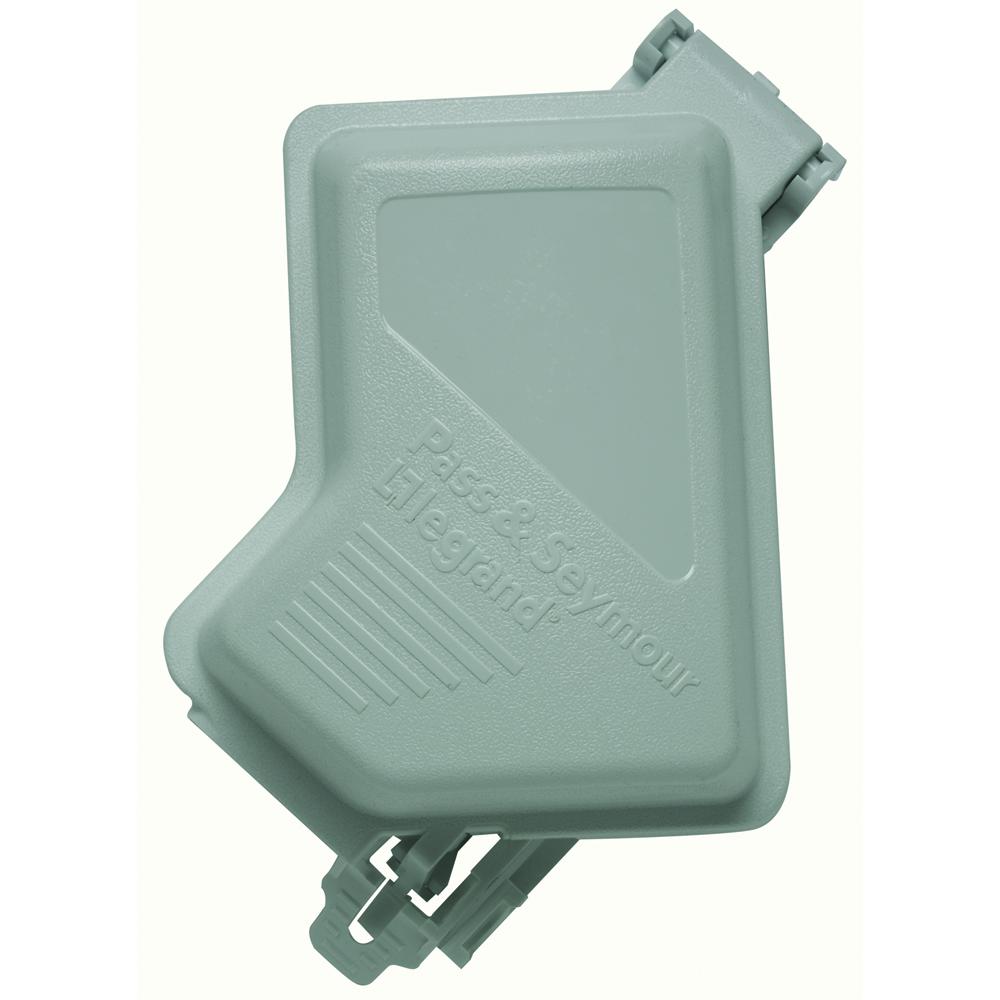 WIUC10-DGL P&S 1G W/P DEVICE PLATE