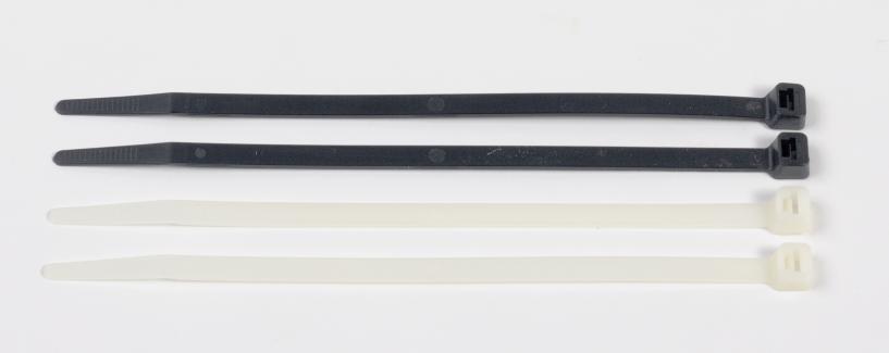 "7.56"" UV BLACK CABLE TIE - 50 LB 00558"