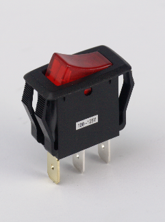 16 AMP SWITCH, ROCKER, RED LIGHTED 85135