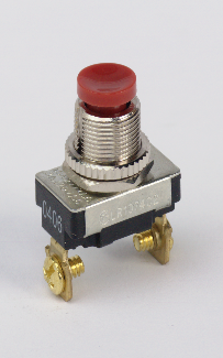 3 AMP SWITCH,PUSH BUTTON, SPST 85145