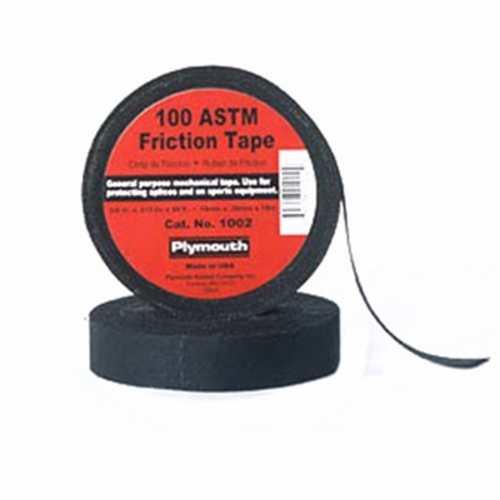 PLYMOUTH,1012,100 ASTM BLACK FRICTION, 3/4