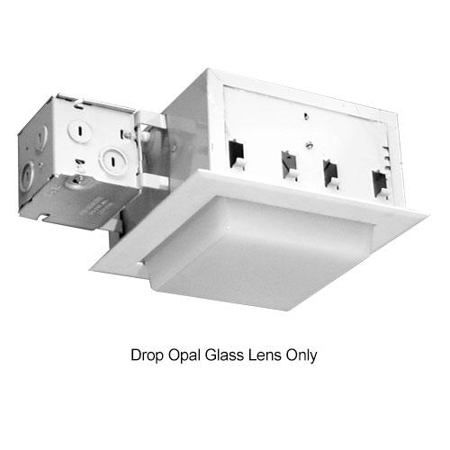 Prescolite,9FDOP,TRIM 8IN DROP OPAL GLASS LENS