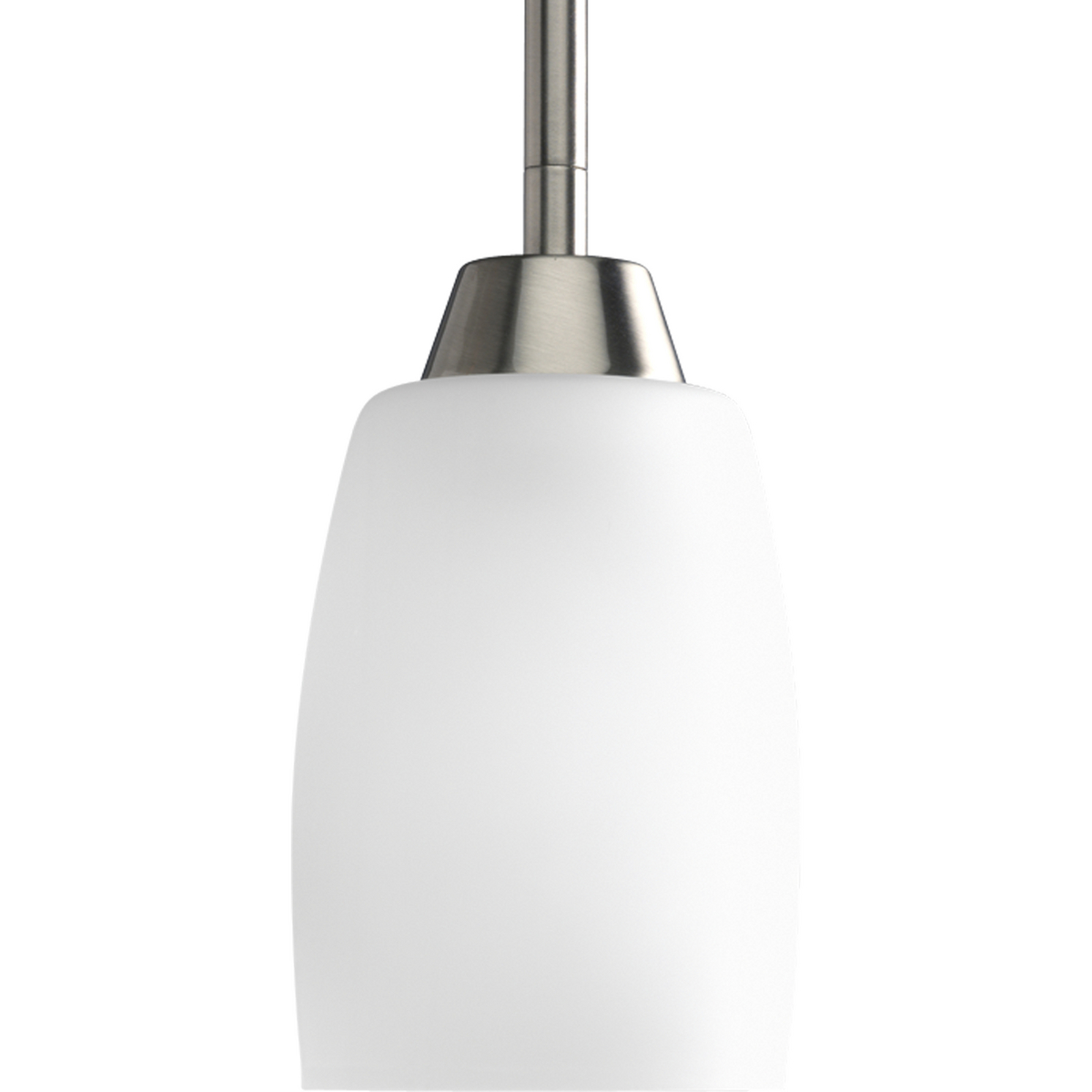 PRO P5108-09 1X100M Brushed Nickel Etched Glass Wisten Mini Pendant