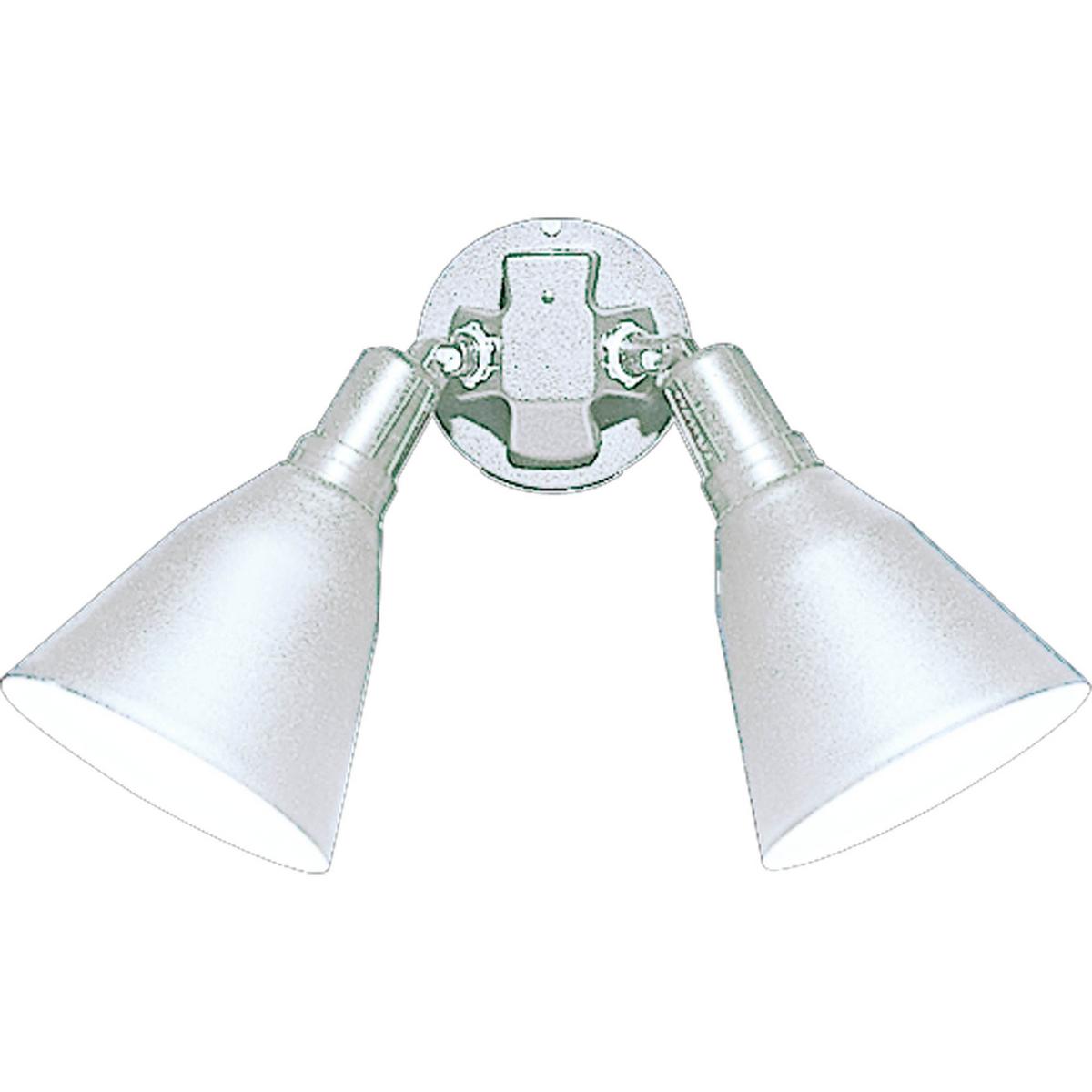 PRO P5203-30 Two Light White Outdoor Flood Light 2X150M