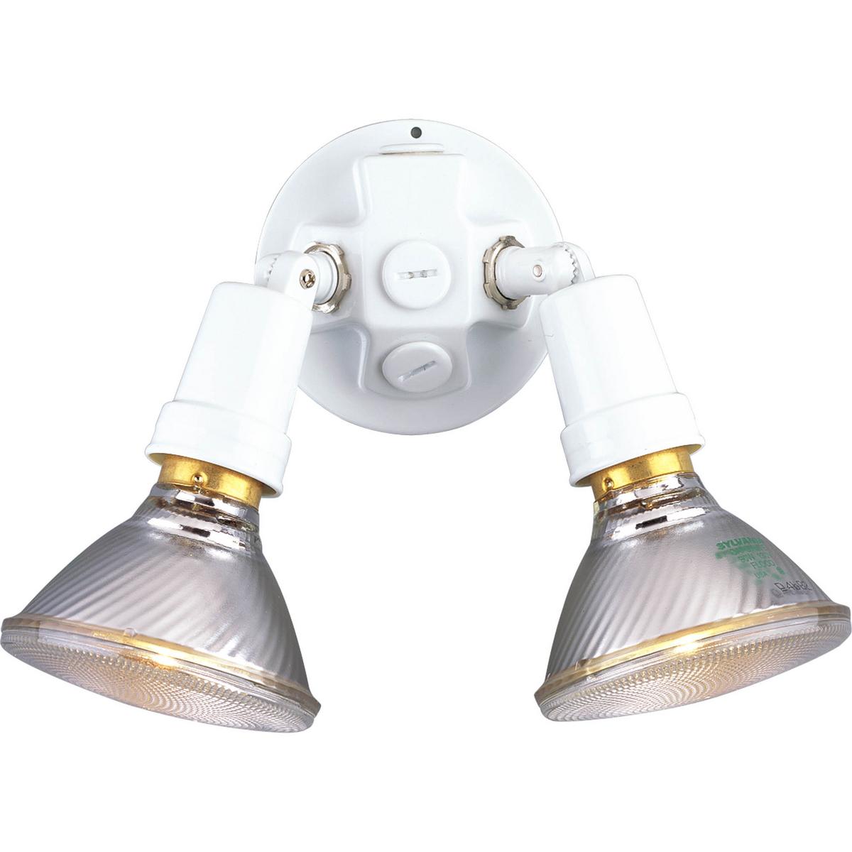 PRO P5207-30 Two Light White Outdoor Flood Light 2X150M
