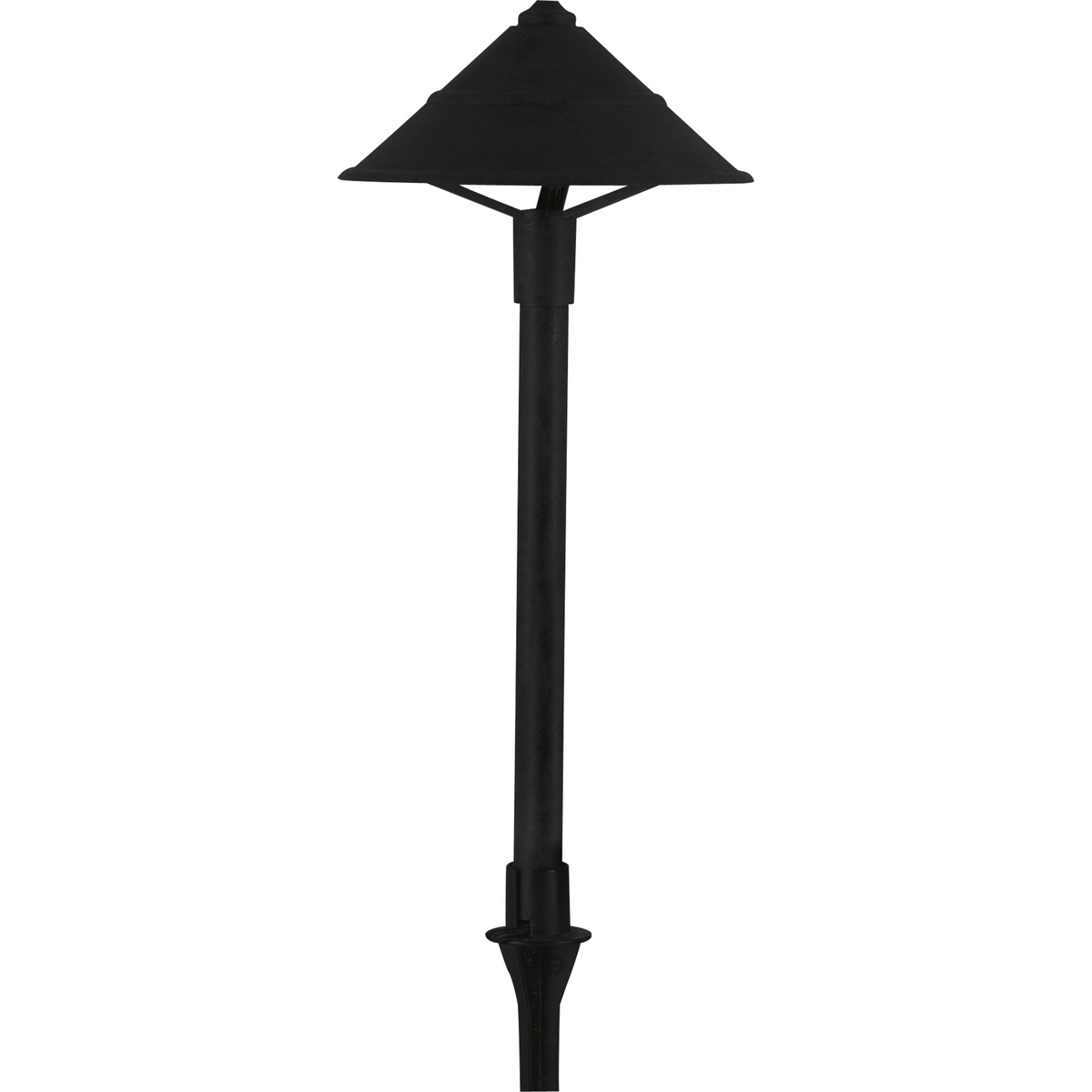 PROP5297-31 P5297-31 1.5W LED PATH LIGHT;Progress Lighting® Progress LED P5297-31 Commodity/Utilitarian Landscape Path Light, (1) LED Lamp, 12 VAC, Black Powder Coated/Painted Housing