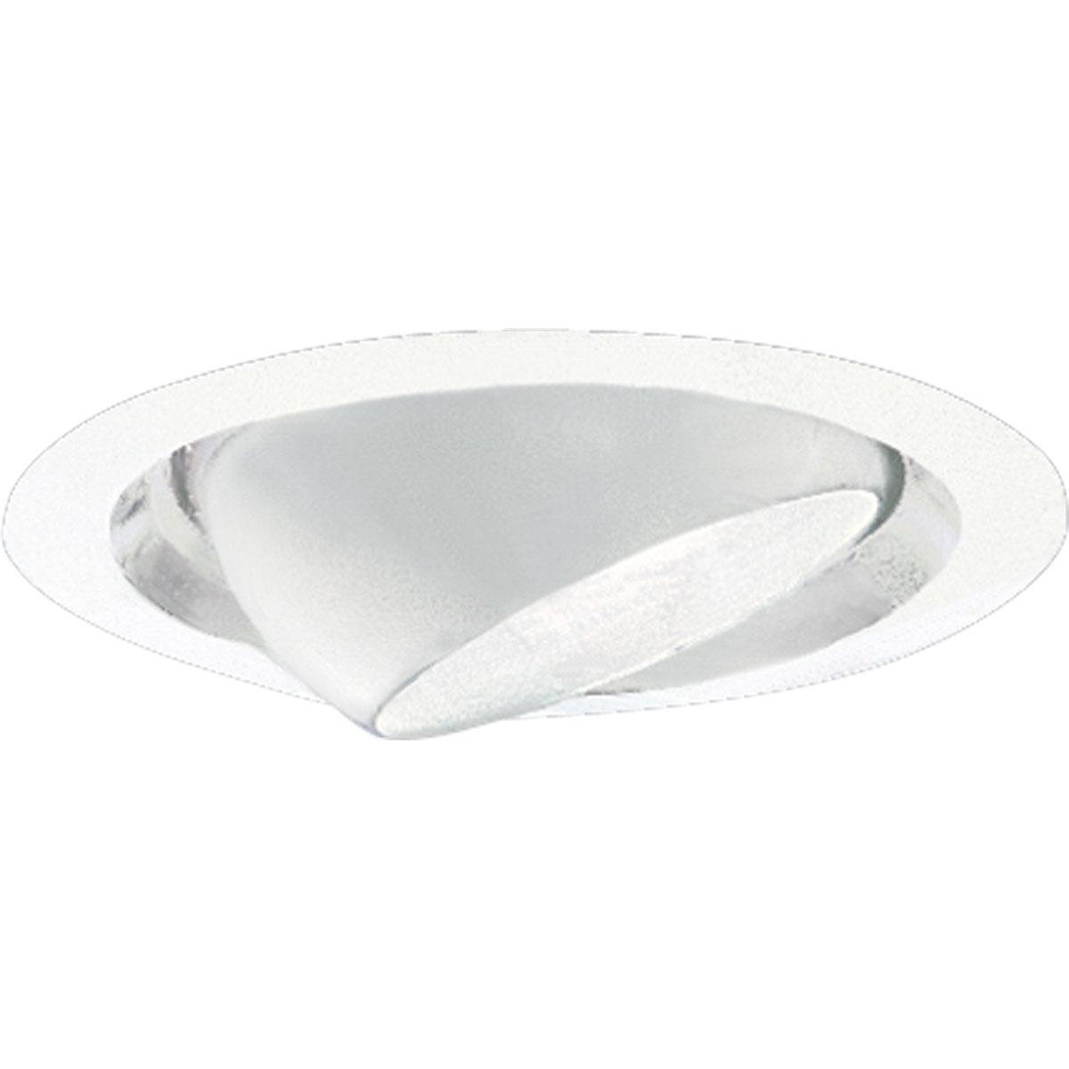 PRO P8076-28 White Directional Eyeball Recessed Light 6