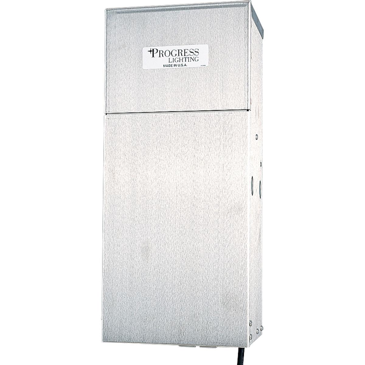 Progress Lighting® P8520-01 Commodity/Utilitarian Electronic Landscape Transformer, 120 VAC Input, 12 VAC Output, 600 W
